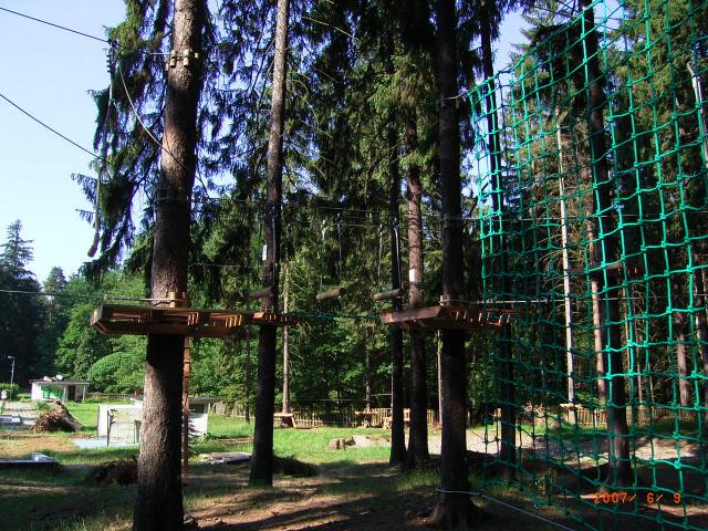Kletterwald Dresdner Heide